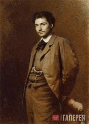 Kramskoi Ivan. Portrait of Fyodor Vasilyev. 1871