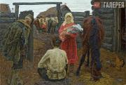 Tkachev Alexei and Sergei. To the Collective Farm. 1970