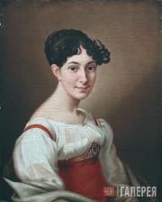 Николай АРГУНОВ. Портрет Е.И.Бантыш-Каменской. 1815
