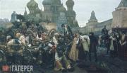 Surikov Vasily. Morning of the Streltsy Execution. 1881