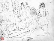 Karl BRULLOV. German Students (the Nazarenes). 1824–1826