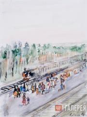 Платформа «42 км». 1983