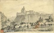 Lermontov Mikhail. Tiflis. Metekhi Castle. 1837 (?)