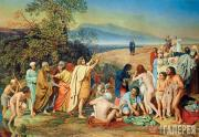Ivanov Alexander. The Appearance of Christ to the People. 1837–57