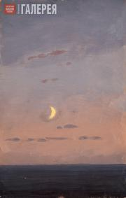 Kuindzhi Arkhip. Sickle of the Moon Against the Sunset. 1890s
