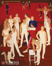 Zhilinsky Dmitry. Gymnasts of the USSR. 1964–1965