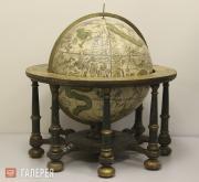 Celestial floor globe. Late 18th century