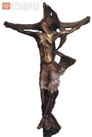 Pericle FAZZINI. Crucifixion. 1981