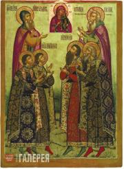 St. Princes Theodore, David and Konstantin; St. Princes Vasily and Konstantin; m