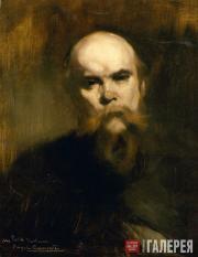 Carrière Eugène. Portrait of Paul Verlaine. 1890