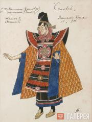 Golovin Alexander. Costume design for the First and Second Japanese Ambassadors,