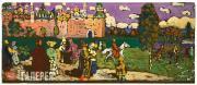 Kandinsky Wassily. A Russian Scene. c. 1903-04