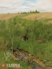 Levitan Isaaс. Near a Brook. Circa 1899
