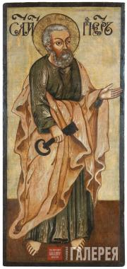 Apostle Peter. Second half of the 18th century