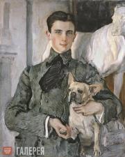 Serov Valentin. Portrait of Count Felix Sumarokov-Elston, later Prince Yusupov.