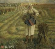 Yablonskaya Tatiana. Flax Harvest. 1977