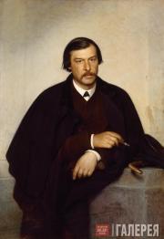 Kramskoi Ivan. Portrait of Mikhail Tulinov. 1868