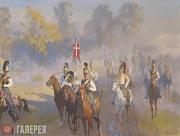 Belyukin Dmitry. The Morning of Borodino Battle. 2011