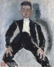 Soutine Chaim. Best Man. Circa 1924-1925