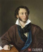 Elagina Avdotya. Alexander Pushkin. 1827