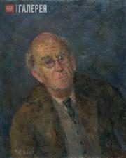Falk Robert. Portrait of Aleksander Gabrichevsky. 1951