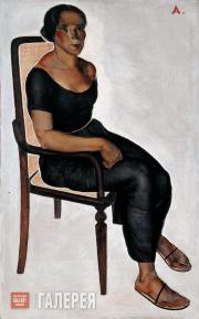 Deineka Alexander. Girl Sitting on a Chair. 1924