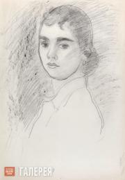 Falk Robert. Portrait of Olya Severtseva. 1950-1951