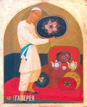 Isupov Alexei. Oriental Teahouse. 1914-1921