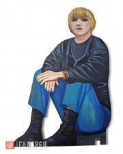 """Nazarenko Tatiana. Figure from the """"Underpass"""" installation. 1995-1996"""