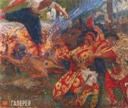 Repin Ilya. The Hopak Dance (The Zaporozhye Cossacks Dancing). 1926-1930