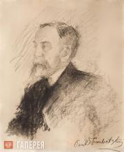 Trubetskoi Paolo. Portrait of Vasily Polenov. 1901