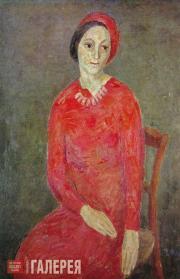 Falk Robert. Portrait of Lyubov Ehrenburg-Kozintseva. 1932-1934