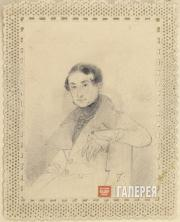 Aivazovskiy Ivan. Portrait of the Tavrida Governor Alexander Kaznacheyev. 1830s