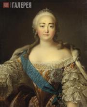 Louis TOCQUÉ. Portrait of Empress Elizabeth (Elizaveta Petrovna)