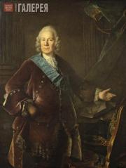 Louis TOCQUÉ. Portrait of Count Alexei Petrovich Bestuzhev-Rumin. 1757