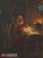 Repin Ilya. The Nativity. 1890