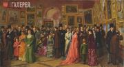 William Powell Frith (1819-1909). A Private View at the Royal Academy, 1881. 188