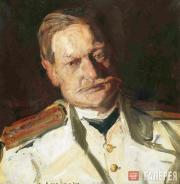 Korovin Konstantin. Portrait of Vladimir Telyakovsky. 1901