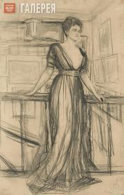 Serov Valentin. Portrait of Princess Polina Shcherbatova. 1911