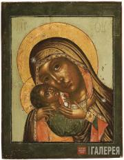 """Icon """"The Mother of God of Korsun."""" 17th–18th centuries"""