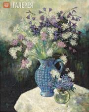 Lang Yevgenia. Night Violets. 1960s