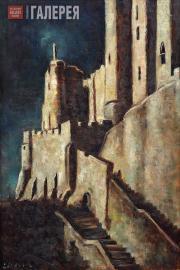 Lang Yevgenia. Night at Saint-Michel. 1960s