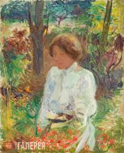 Kouznetzoff Constantin. In the Garden. c. 1902-1905