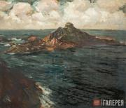 Kouznetzoff Constantin. L'îlot du Verdelet. Brittany. 1926-1927