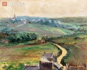 Kouznetzoff Constantin. The Road to Ville-Pichard. c. 1916