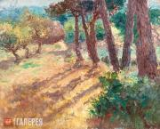 Kouznetzoff Constantin. Pines and Apple Trees in Kerfany-les-Pins. 1921