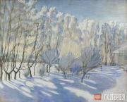 Maria Favorskaya (Derviz).  A Winter Day. White Frost. 1911
