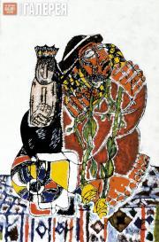 Tsereteli Zurab. Yellow Roses. 2007
