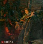 Samsonov Marat. In a Moment of Calm. 1958