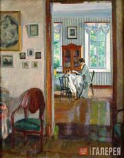 Vinogradov Sergei. In a House. 1910